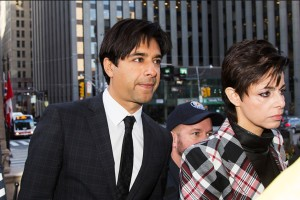 Illustration Jian Ghomeshi et son avocate, Marie Heinen