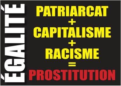 patriarcat+racisme+ =prostitution