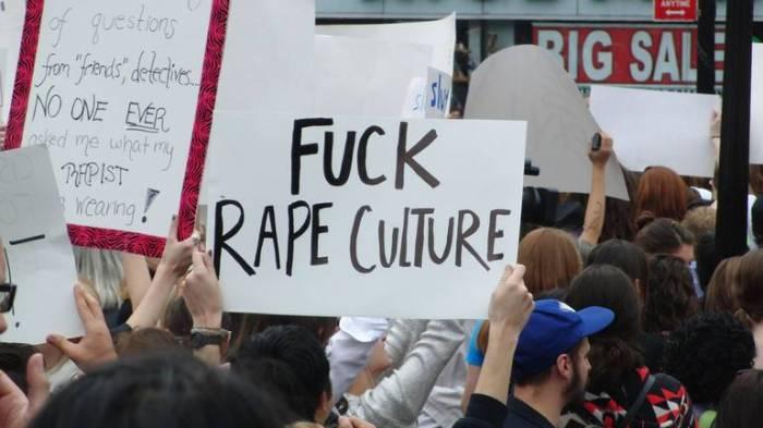 FUCK RAPE CULTURE poster