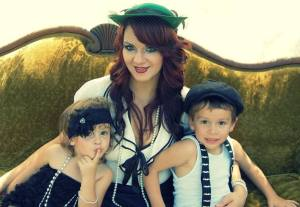 Amber Barnhill and kids