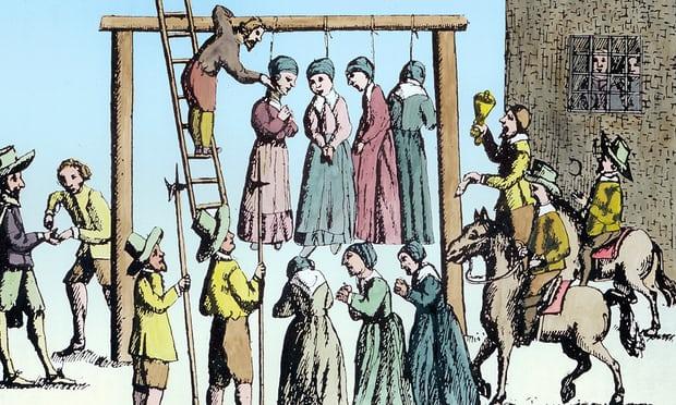 Inquisition Gibet de femmes