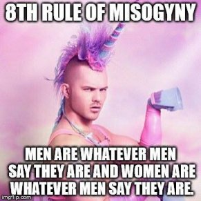 8th rule Men are whatever