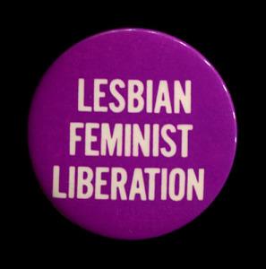badge Lesbian Feminist Liberation