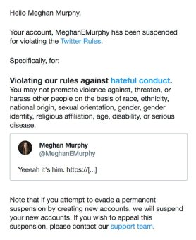 Suspension de Meghan
