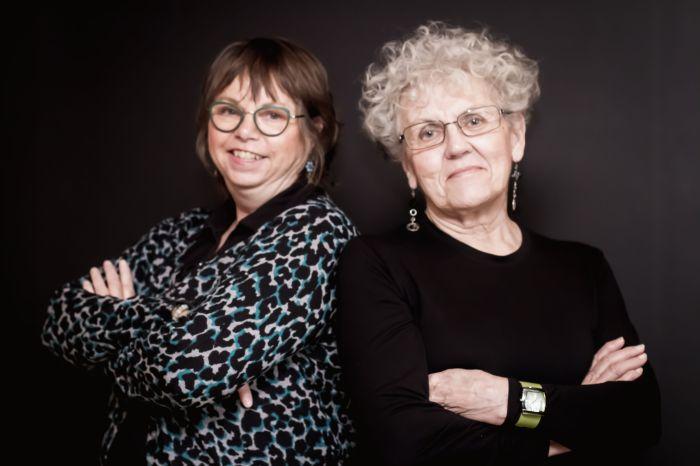 Linda & Jeanne colour